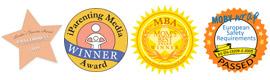 MobyWrap Tragetuecher Auszeichnungen
