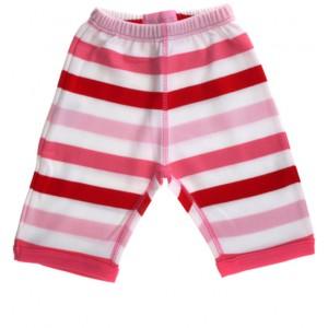 Bob & Blossom Babyhose rosa-bunt gestreift