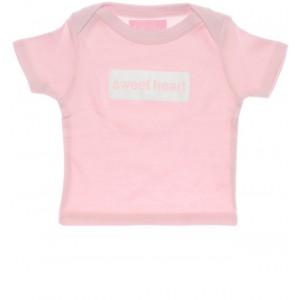 "Bob & Blossom T-Shirt ""sweet heart"" hellrosa"