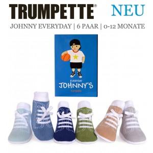 Trumpette Baby-Socken Johnnys Everyday 6er-Pack