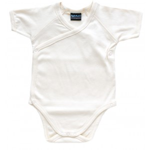Organic Cotton Baby-Body Kimono natur