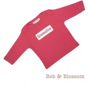 "Bob & Blossom Longsleeve ""Sweetie"" pink"