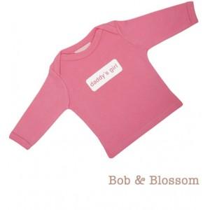 "Bob & Blossom Longsleeve ""daddy`s girl"" rosa"
