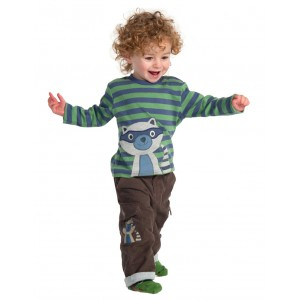 Frugi Baby-Hose Lined Cord Combat