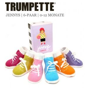 Trumpette Baby-Socken Trumpette Baby-Socken Jennys 6er-Pack Geschenk6er-Pack