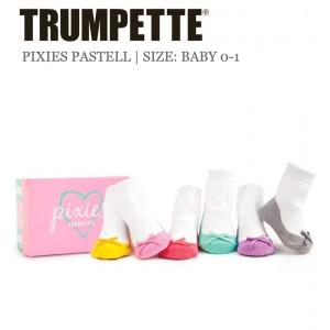 Trumpette Pastell-Pixies Baby-Socken