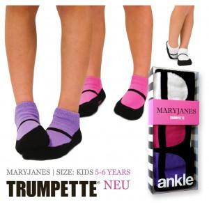 Trumpette Maryjanes Kinder-Socken 5-6 Jahre