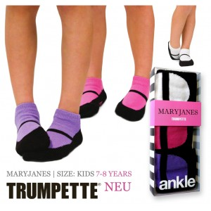 Trumpette Maryjanes Kinder-Socken 7-8 Jahre