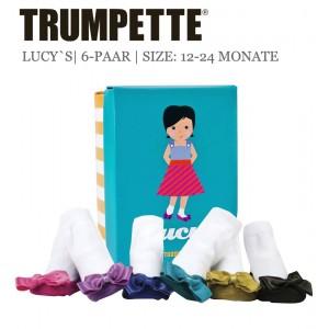 Trumpette Lucys Toddler-Socken das perfekte Geschenk zur Geburt
