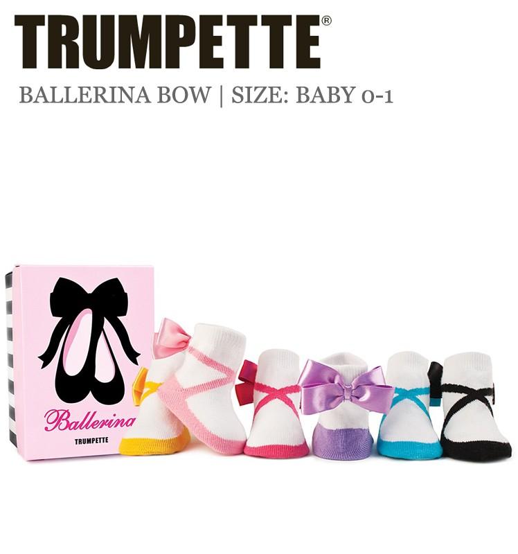 huge selection of 55f77 c0ad9 Trumpette Babysocken Ballerinas 6er-Pack in der Größe 15-18 ...