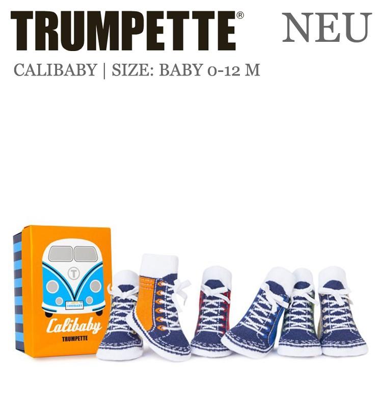 sports shoes 2ba1d e7b5b Trumpette Calibaby Babysocken 6er-Pack in der Größe für ...