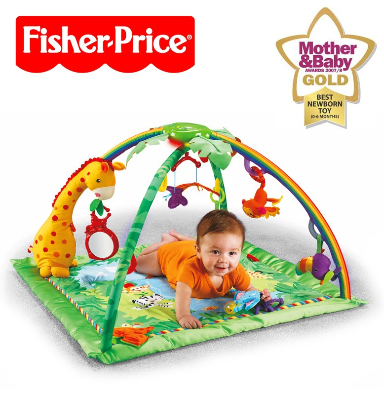 mattel fisher price k4562 rainforest erlebnisdecke