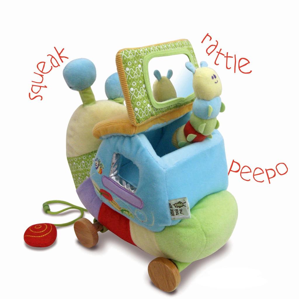 nachziehspielzeug f r babys ab 6 monate schnecke von little bird told me. Black Bedroom Furniture Sets. Home Design Ideas