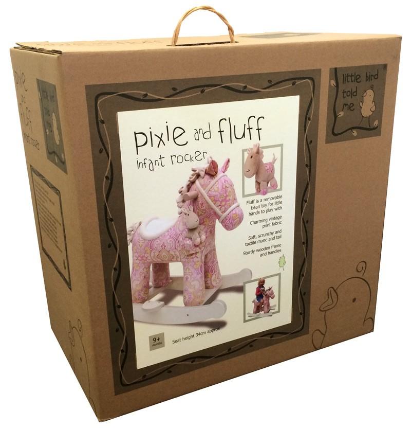 schaukelpferd f r babys und kinder perfektes geschenk f r. Black Bedroom Furniture Sets. Home Design Ideas