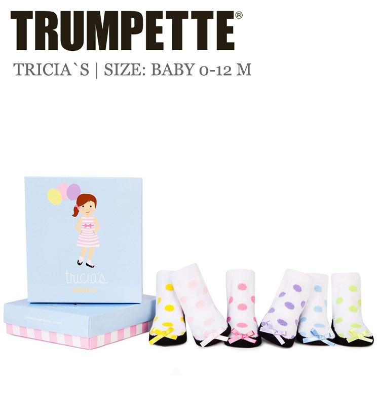 official photos 34efa 7841b Trumpette Babysocken Tricia`s 6er-Pack in der Größe 15-18 ...