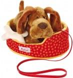 sigikid Kuscheltier Hund mit Korb 36994
