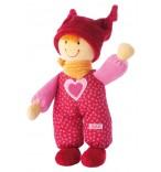 Sigikid Babydolly Püppchen rot als erste Puppe für Babys geeignet