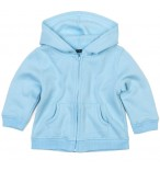 Baby Kapuzenjacke Hoodie blau