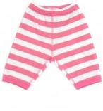 Bob & Blossom Babyhose pink-weiß gestreift