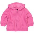 Baby Kapuzenjacke Hoodie pink