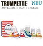 Trumpette Baby Sailors 6er-Pack in Geschenkverpackung