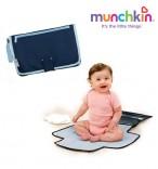 Munchkin praktische Wickeltasche blau