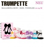 Trumpette Toddler-Socken - Ballerina Bow 12-24 Monate
