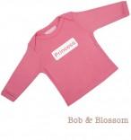 """Bob & Blossom Longsleeve """"Princess"""" rosa"""