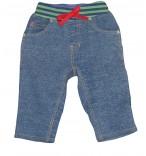 Frugi Baby-Jeans Traktor Bio-Jersey Jungen