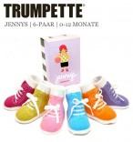 Trumpette Baby-Socken Jennys 6er-Pack Geschenk