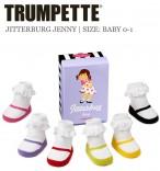Taufsocken Taufsöckchen Baby-Socken Jitterburg Jenny 6er-Pack
