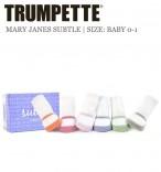 Trumpette Babysocken Maryjanes subtle 6er-Pack