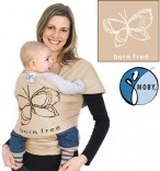 Tragetuch Moby Wrap Born Free Sand