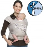 Tragetuch Moby Wrap Classic spezial UV mandel LSF50+