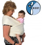 Tragetuch Moby Wrap Classic Natur unbleached