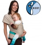 Tragetuch Moby Wrap Classic spezial UV sand