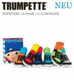 Trumpette Toddler-Socken Popstars 6er-Pack