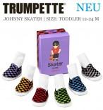 Trumpette Kleinkind-Socken Johnny Skater 6er-Pack