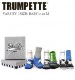 Trumpette 6 Paar Baby-Socken Varsity
