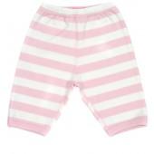 Bob & Blossom Babyhose rosa-weiß gestreift