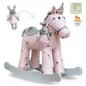 Einhorn Schaukeklpferd für Baby Mädchen ab 1 Jahr