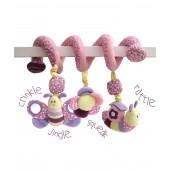 Babyschalen / Kinderwagenkette Billowy Butterfly Soft Activity Spiral