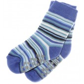 ABS Socken blau geringelt