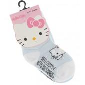 Hello Kitty Babysocken Doppelpack hellblau