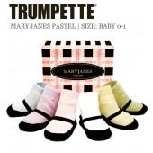 Trumpette Babysocken Maryjanes pastell 6er-Pack