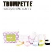 Trumpette Baby-Socken - Suzie Q's 6er-Pack