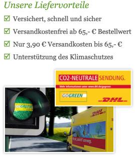 Versand-Vorteile bei Little-Pretty.de