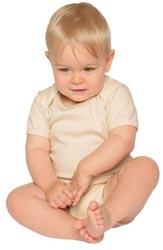 Baby Junge mit Bio-Baumwolle (organic-cotton) Body