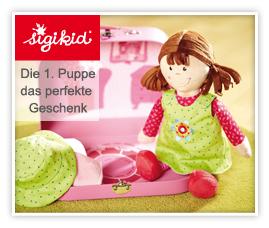 Das Perfekte Geschenk - Die 1. Puppe mit Koffer für Baby-Mädchen kaufen.